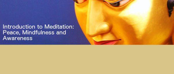 Drop in Meditation classes
