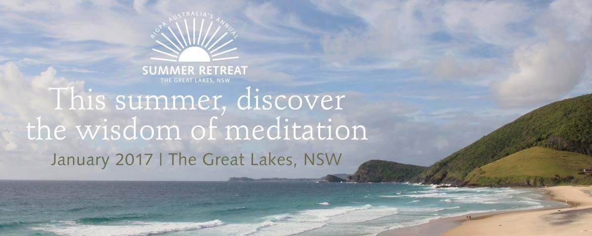 Summer Retreat with Sogyal Rinpoche